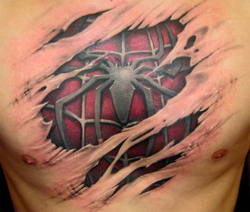 spidermantatt