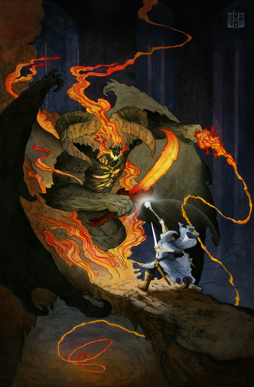 Gandalf+and+the+Balrog