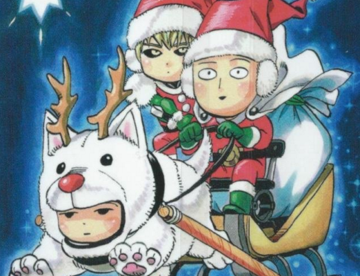 12 Days of Anime Christmas - Day 8: A Very One Punch Man Christmas ...