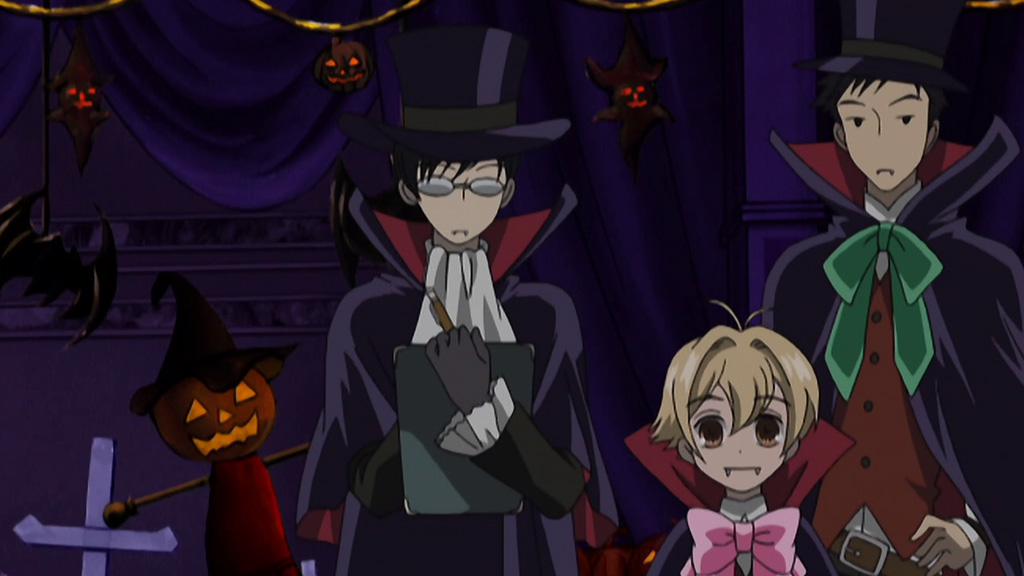 seven nights of halloween anime day 3 ouran high school host club